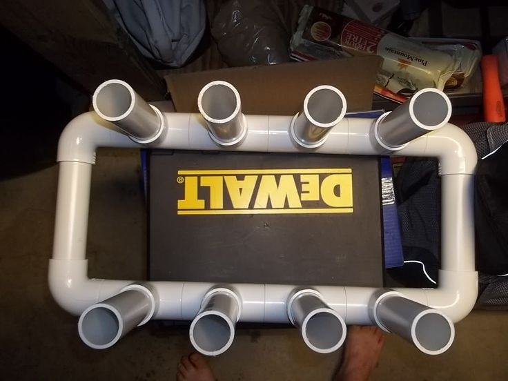 Homemade fishing rod holders creative ideas pinterest for Homemade fishing rod holders