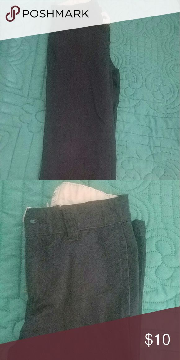 Navy Blue Khakis Nice casual pants. The color is navy blue. Great condition. Children's Place Bottoms Casual