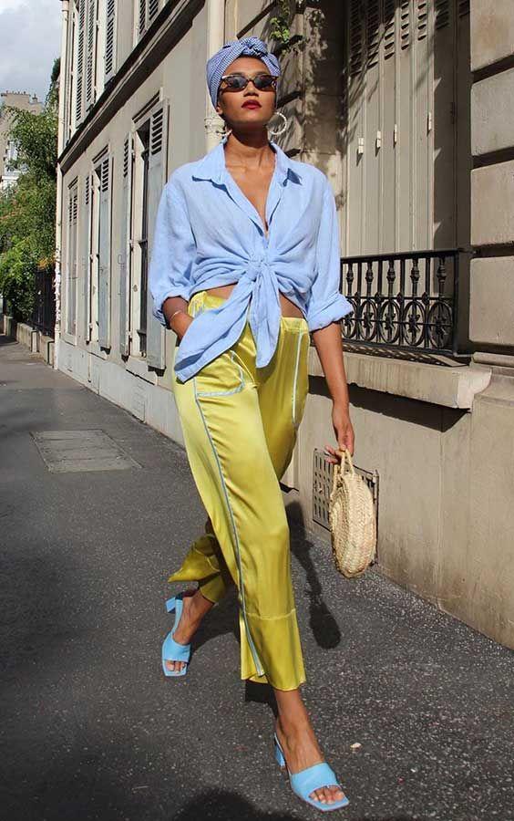 Alerta de tendência: Sandália de bico quadrado - Guita Moda | Semanas de moda, Estilo de rua, Looks street style