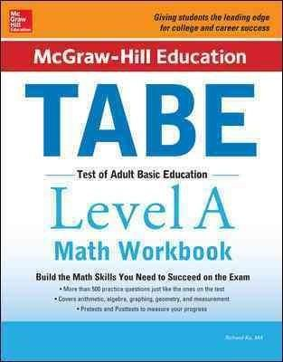 Now updated! Expert math preparation for the TABE exam that is the first step to lifelong success Whether you're looking to quality for a government job, to launch a career with a private company, or