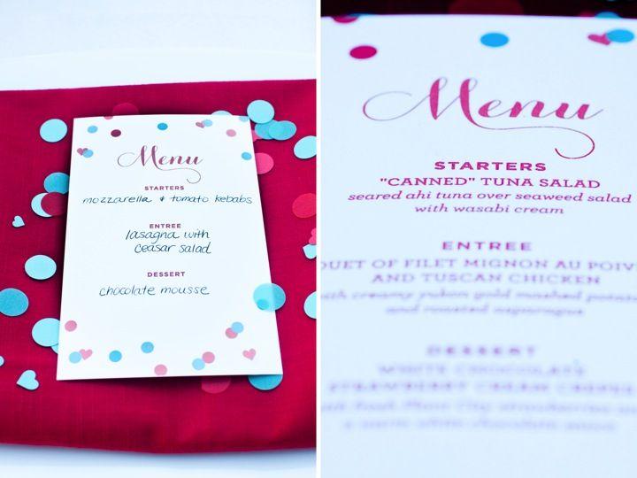 Printable valentine 39 s day dinner date menus diy for Valentines dinner party menu