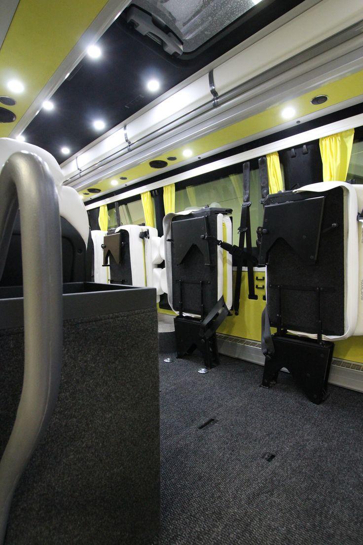 Mercedes-Benz Sprinter Tamlans Minibus, Foldable Seats