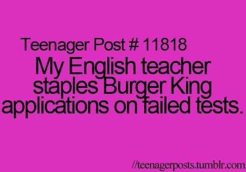 That teacher is my hero.