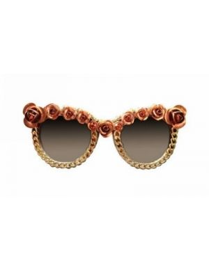 RUEBEN Flower And Chain Details Sunglasses  #jessicabuurman #wishlist