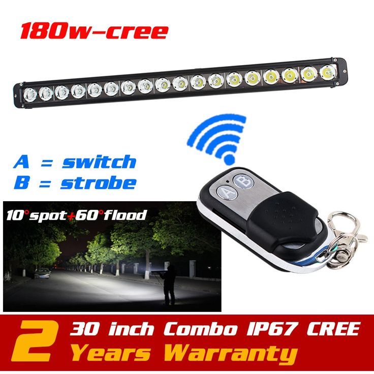 219.99$  Watch here - http://alizxq.worldwells.pw/go.php?t=32438065367 - 30'' 180W CREE LED Light Bar Wireless Remote Strobe Light for 12v 24v SUV Tractor 4X4 ATV LED Offroad Fog light Bar Save on 240W 219.99$