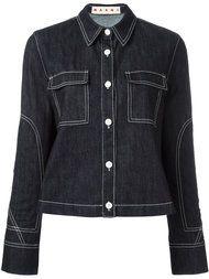 Купить Marni джинсовый пиджак.
