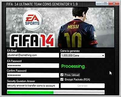 Fifa 14 Coin Générateur - Téléchargement gratuit Fifa 14 Coin Générateur | eBay
