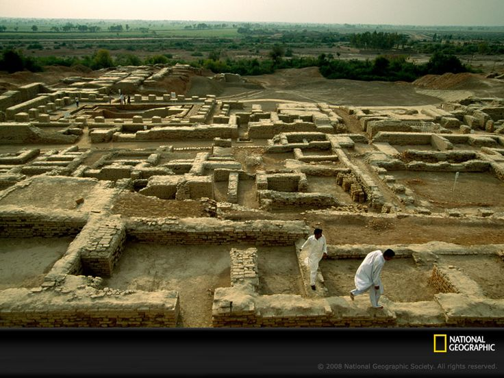 Indus Valley. Mohenjo-daro. This civilization was unknown until 1921, when excavations revealed the cities of Harappa and Mohenjo-daro. This culture emerged nearly 4000 yrs ago & thrived for 1000 years, profiting from the highly fertile lands of the Indus River flood plane & trade with the civilizations  of nearby Mesopotamia