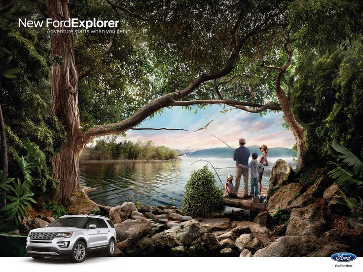Ford: Fishing   Ads of the World™