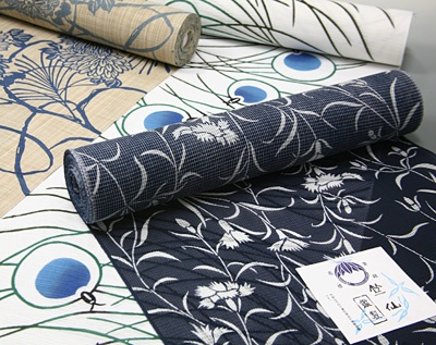 roll of cloth for kimono