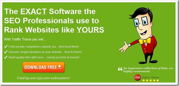 Traffic Travis: Very useful Freeware SEO tool for Bloggers and INternet Marketers