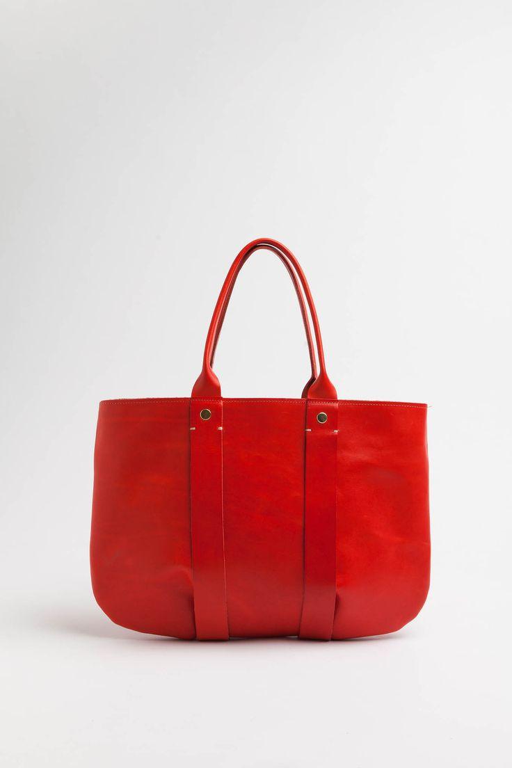 Clare V La Tropezienne in Red