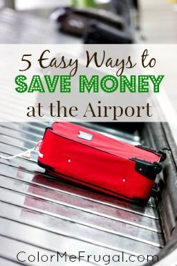 Travel can be expensive by the time you figure in air fare, hotel, etc. The good news? There are still a few ways that you can save money at the airport!