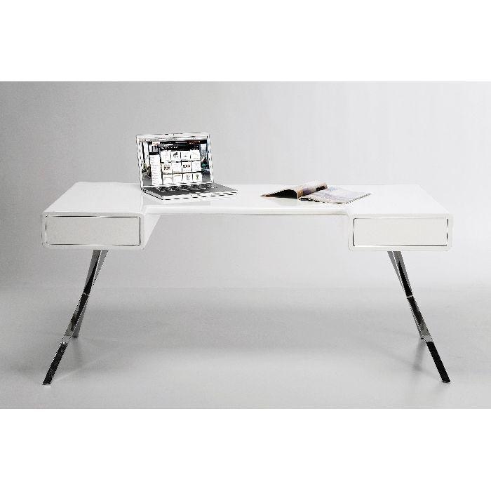 Γραφείο Insider Λευκό Για άνεση και στυλ, επιλέξτε ένα γραφείο σαν και αυτό, λιτό και κομψό!