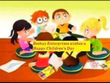 #BeekayEnterprises wishes a #HappyChildrensDay