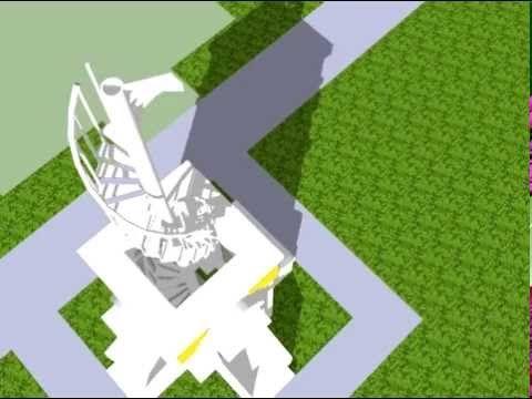 Animasi Model Minaret