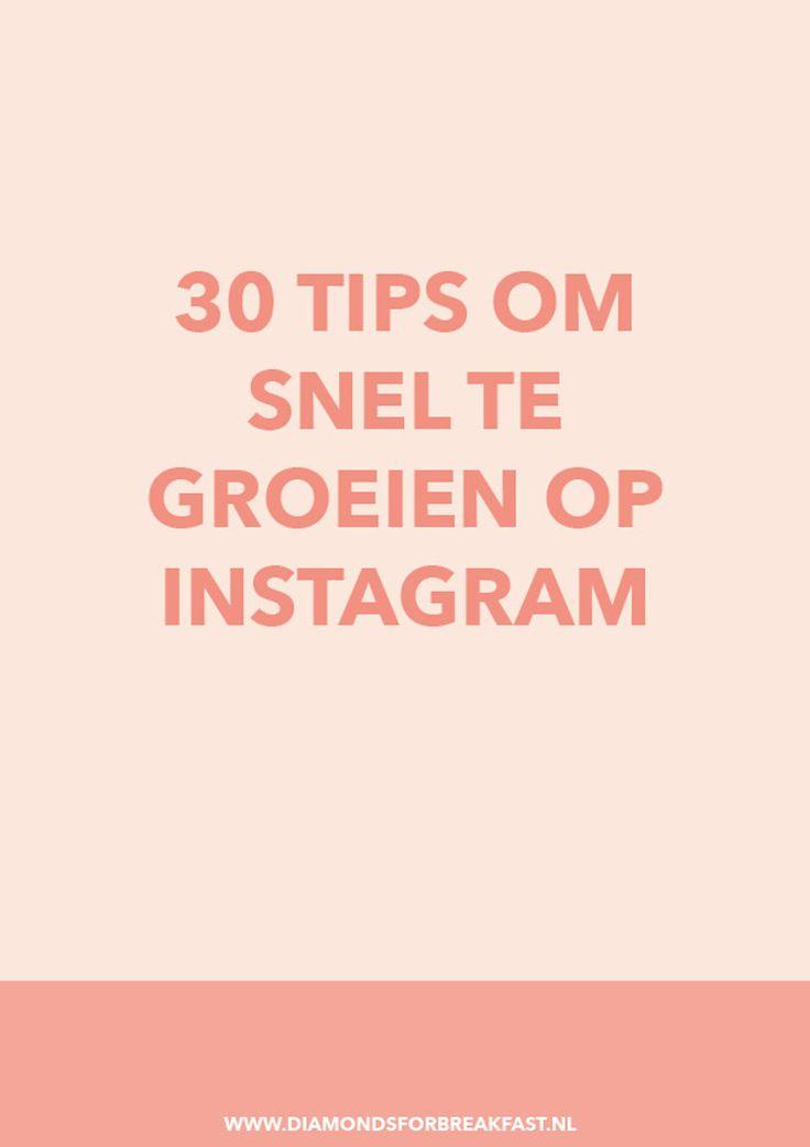 Wil je graag dat je Instagram account groeit? In dit artikel deel ik 30 tips om zichtbaarder te worden op Instagram en meer volgers te krijgen.