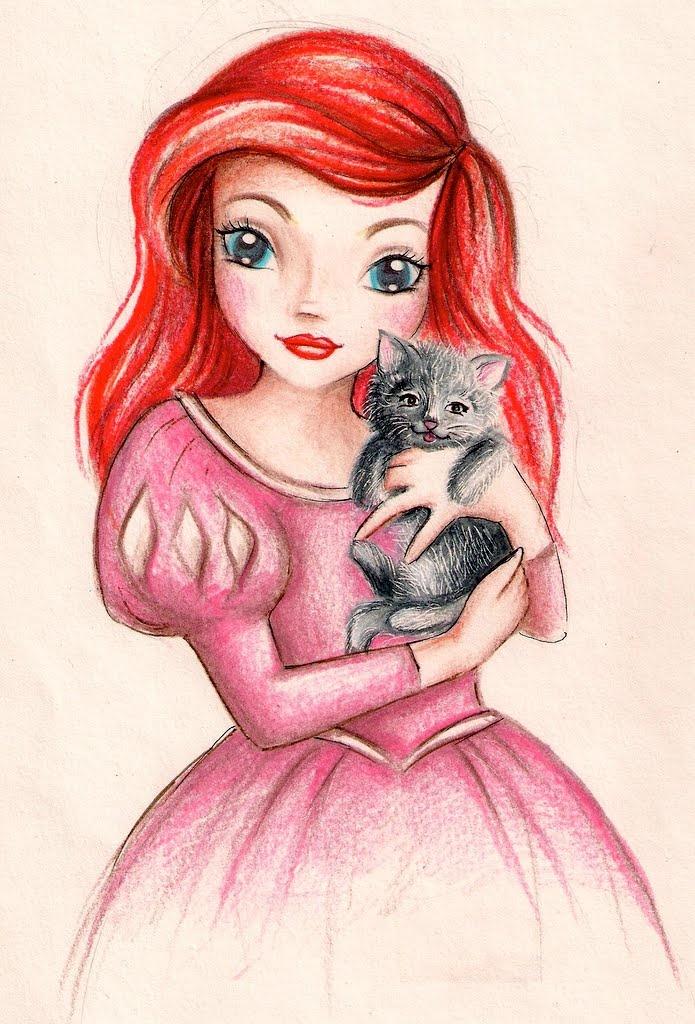 TopModel Disney Ariel Little Mermaid