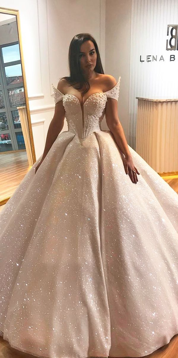 30 Ball Gown Wedding Dresses Fit For A Queen Brides Their Gowns