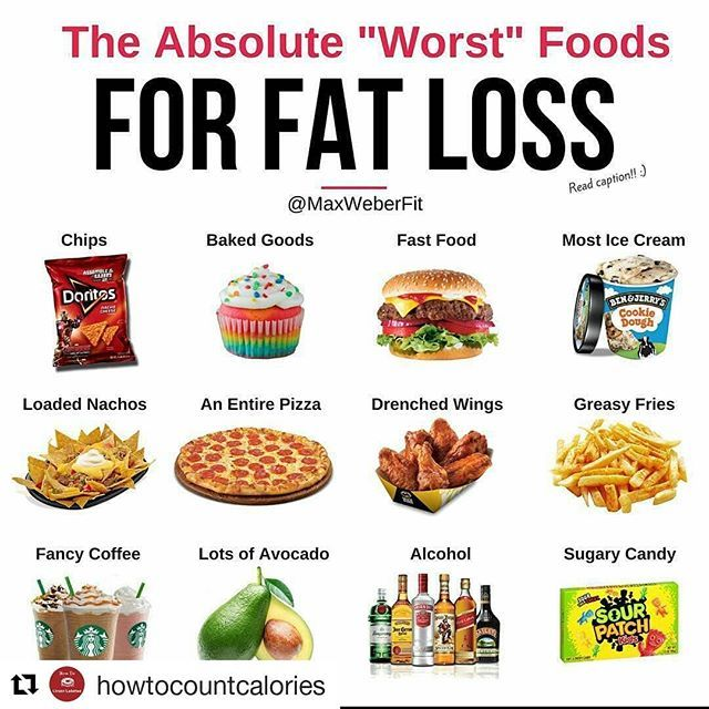 worst diet to lose fat fast