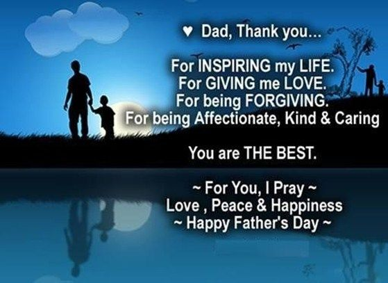 Today we are here to provide you the best Fathers Day Quotes by Son to wish your dad & grandfather on this marvelous day. Father's Day is going to observe on June