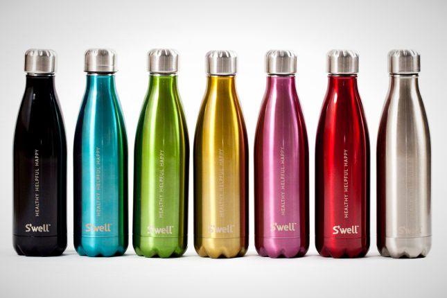High Tech H20: 16 Inventive Water Bottles via Brit + Co