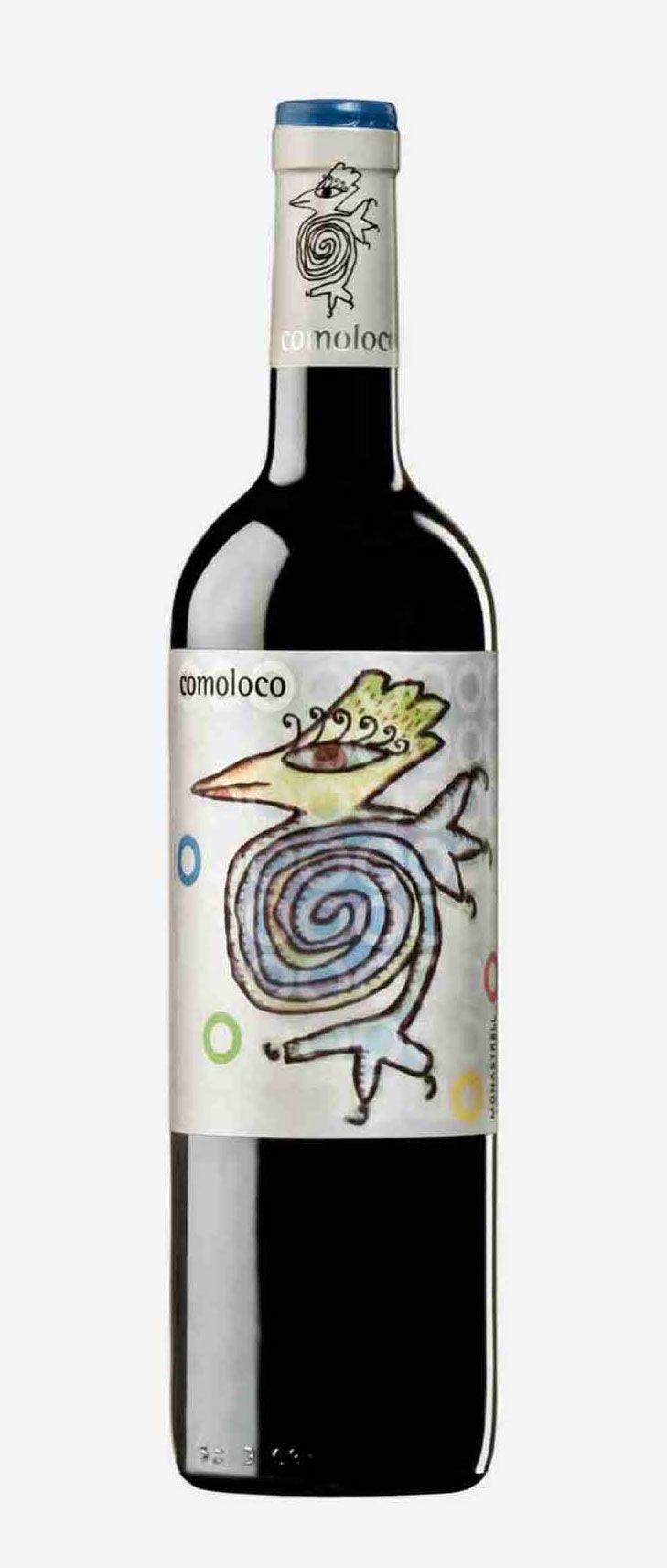 comoloco 2011 cute critter on this #wine #packaging PD wine / vinho / vino mxm