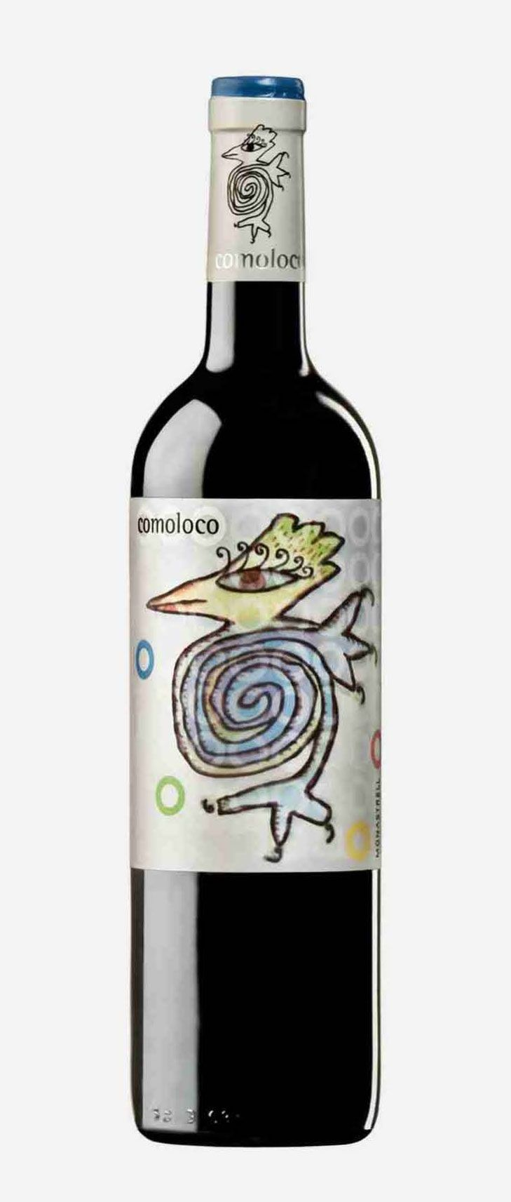 comoloco 2011 cute critter on this #wine #packaging PD wine / vinho / vino mxm