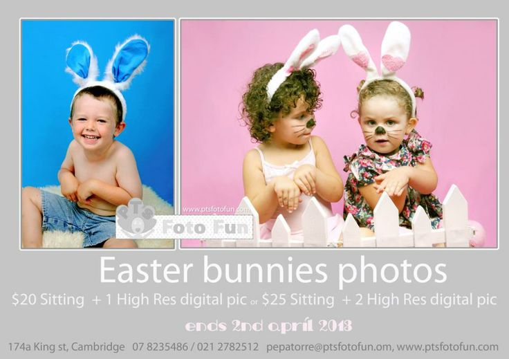 Easter Bunny promo 2013