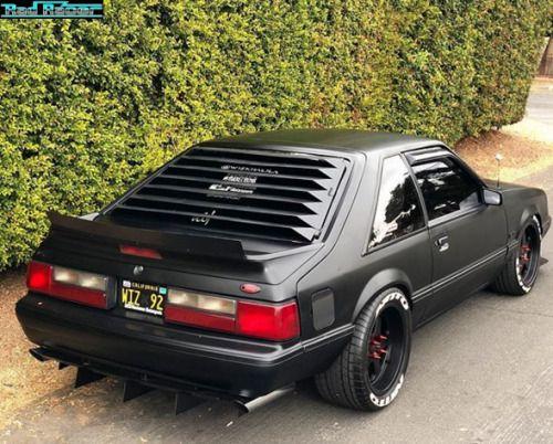 Fox Body Mustang >> Ford Mustang 5 0 Foxbody Badass Rides Cars Fox Body Mustang