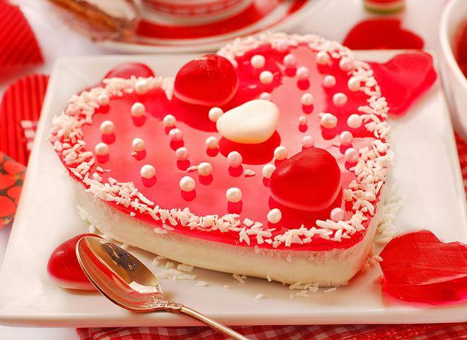 Рецепт желейного пирога: приготовь на День святого Валентина