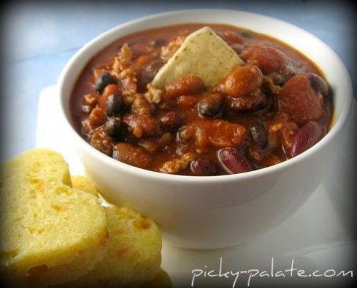 turkey chili from picky palate