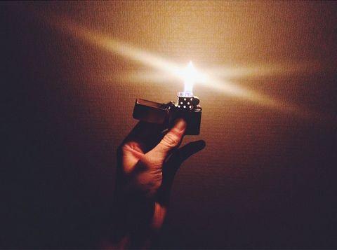 Zippo lighter fan photo by Instagram user @kjsvendsen (
