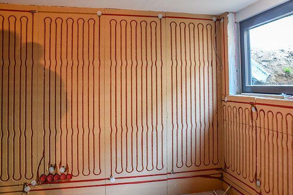 Wandheizung Trockensystem KW-8ÖKOpor - JOCO - Moderne Heizungs- und Kühlsysteme