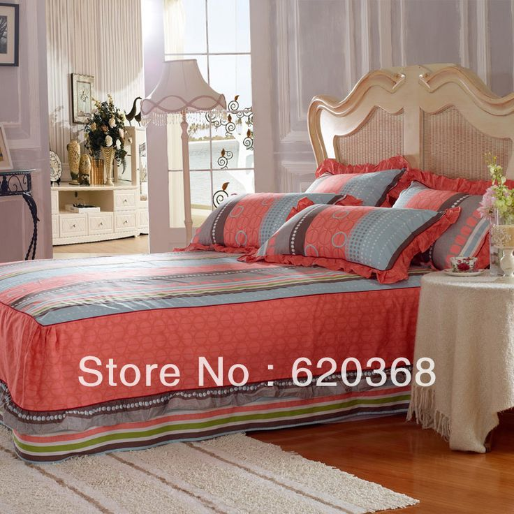 buy king queen 4pcs luxury 100 cotton printed bedding set - Queen Bed Sheets
