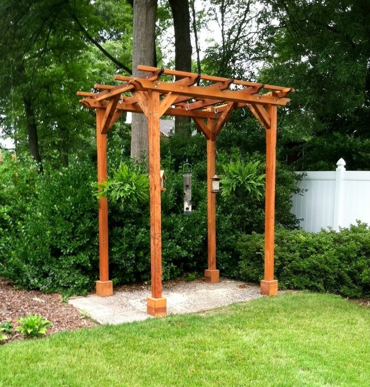 Wooden Gazebo Kits Small Pergola And Wooden Gazebo On