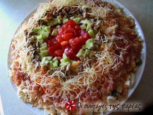 Cobb Salad των Friday's #sintagespareas