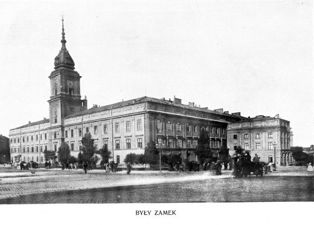 Royal Castle, Warsaw, 1899