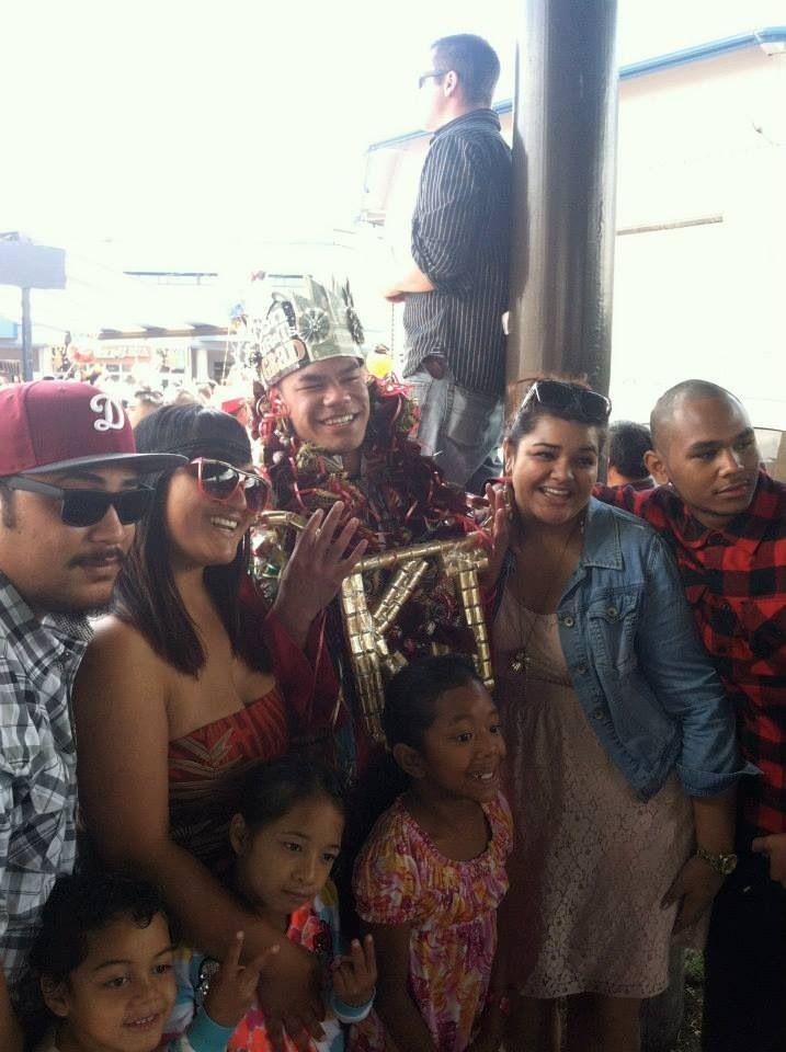 Boys graduation money pale (Samoan crown) and assorted ...