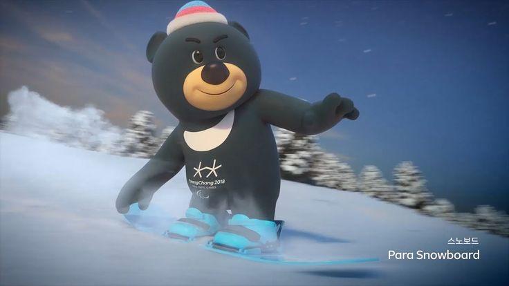 PyeongChang 2018 Paralympic Winter Games Mascot Animation