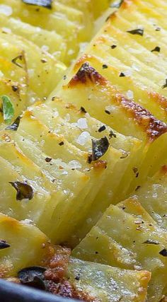 Sea Salt & Oregano Domino Potatoes
