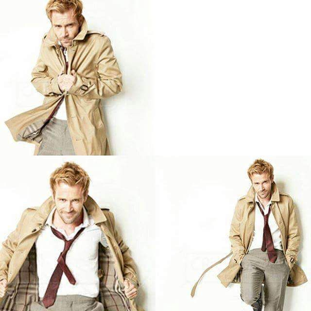 Matt Ryan as Constantine ❤❤❤ #BringBackConstantine #SaveConstantine #IStandWithConstantine and always will