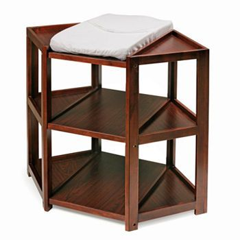 Badger Basket Corner Changing Table - Would depend on color of other furniture. Maybe could DIY?