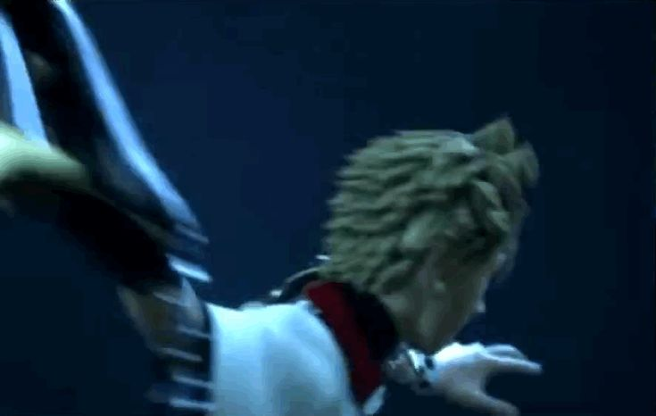Kingdom Hearts: Dream Drop Distance | Don't worry guys, Sora's got this. [gif]