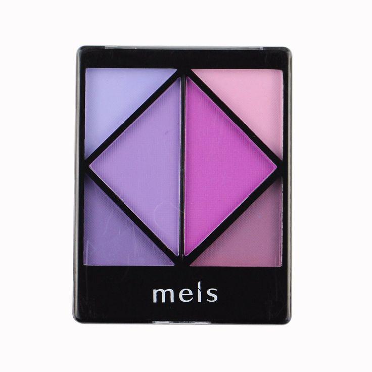 MEIS Brand Makeup Cosmetics Professional Makeup 6 Colors Eye Shadow Eyeshadow Palette Matte Eyeshadow Eye Shadow Palette MS0605