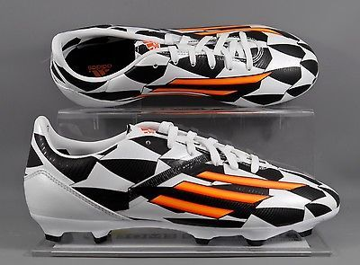 #Adidas (m19860) f10 world cup fg #junior football boots - #white/black,  View more on the LINK: 	http://www.zeppy.io/product/gb/2/131573234699/