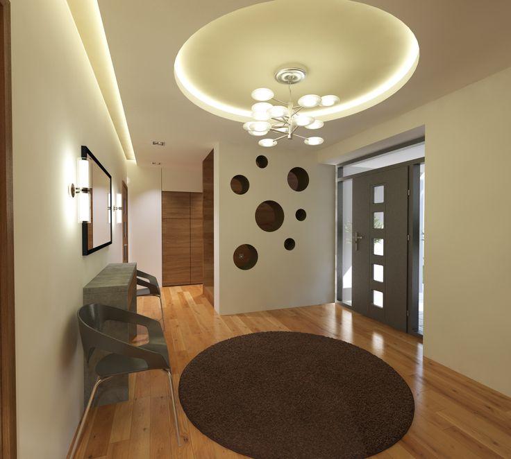Előszoba - látványterv / Hall interior - architectural visualization