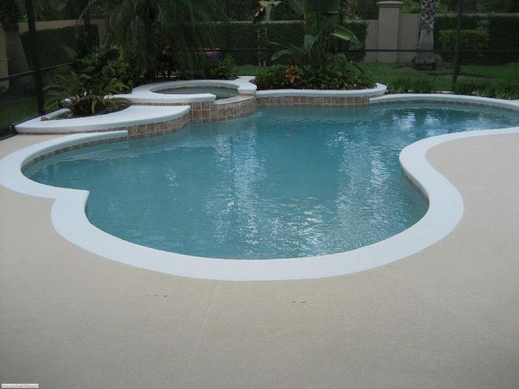 Best Paint For Concrete Pool Deck And Best Paint For Concrete Pool Deck Deck Paint Concrete Patio Concrete Pool Painted Pool Deck