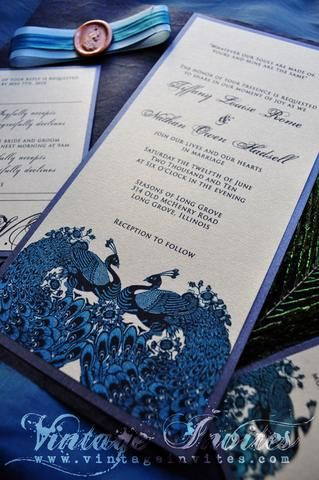 17 best ideas about peacock wedding invitations on pinterest, Wedding invitations