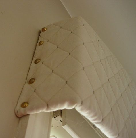 Make A Beautiful Window Valence With Cardboard. Brilliant!